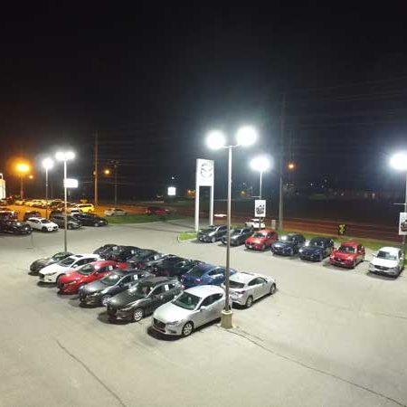auto dealership LED, car dealership LED, LED retrofit auto dealer, LED retrofit car lot, saveONenergy dealership lighting